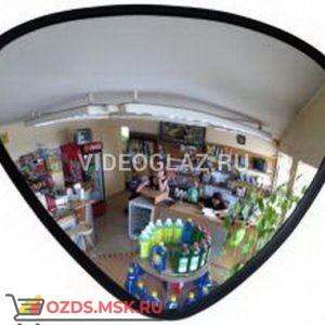 Зеркало для помещений треугольное Зеркало сферическое обзорное