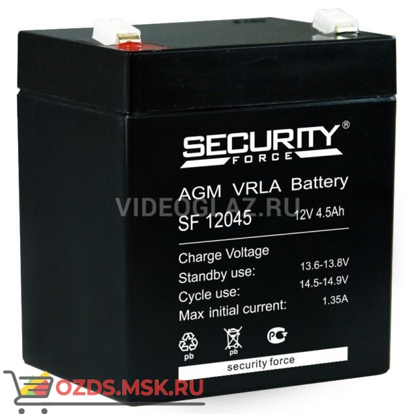 Security Force SF 12045 Аккумулятор