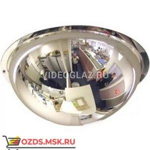 Зеркало для помещений купольное d-1000 мм Зеркало сферическое обзорное