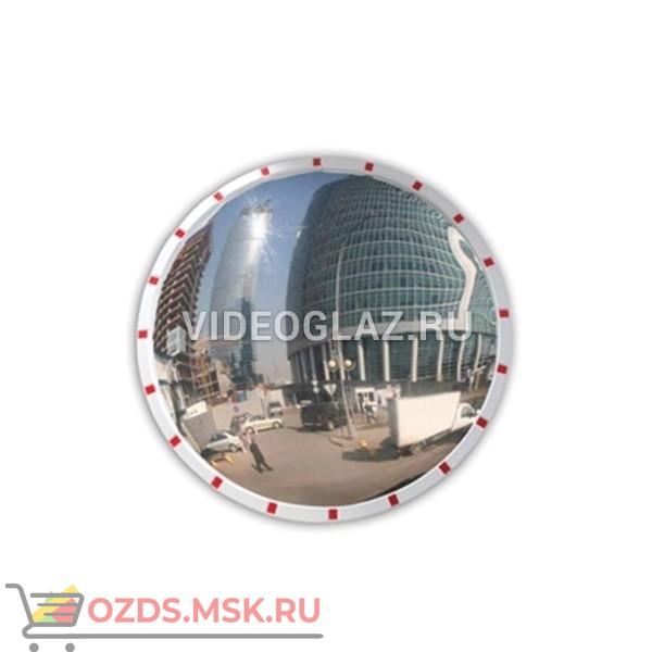 DL Зеркало 1190 мм уличное, со световозвращателями Дорожное зеркало