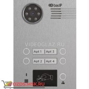 BAS-IP BA-04BD Silver Вызывная панель IP-домофона