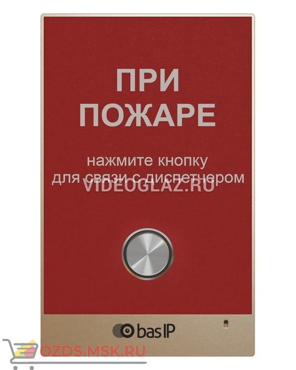 BAS-IP AV-02FDR Red Вызывная панель IP-домофона