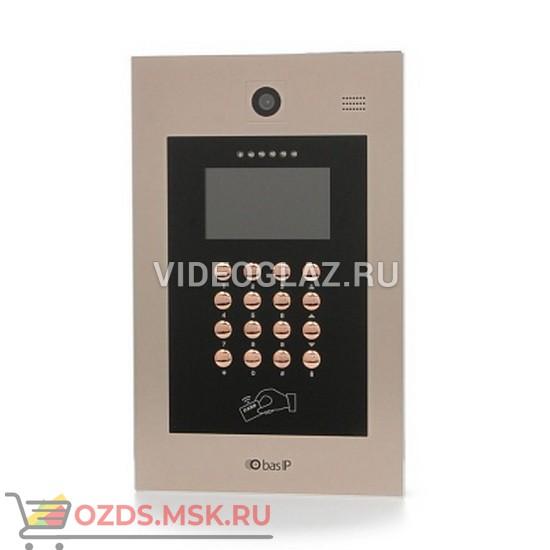 BAS-IP AA-09B Gold Вызывная панель IP-домофона
