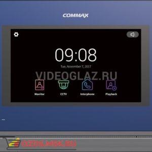Commax CDV-704MAXL синий Сопряженный видеодомофон