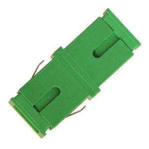 Адаптер проходной SC/APC - SC/APC, Simplex, без фланца