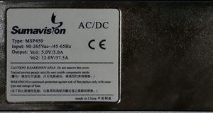 Блок питания 100~240 VAC (450Вт) для шасси EMR3.0-HP Sumavision