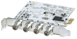Четырехканальная PCI-E плата ввода AV-сигнала Stream MS4