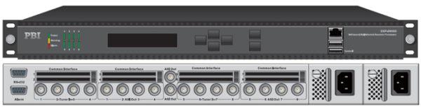 Цифровой ресивер 8xDVB-C с 8xCI/MUX/8xASI-out/IP - DXP-3800D-C PBI