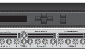 Цифровой ресивер 8xDVB-S2 с 8xCI/MUX/8xASI-out/IP - DXP-3800D-S2 PBI
