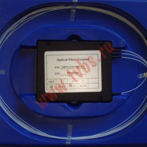 Делитель оптический 1х3, SM, равномерный, 1310/1550нм, 1м, 0.9 мм