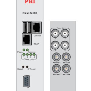 Эфирный и кабельный приемник Quad IRD HD/SD с ASI-out/MUX/IP - DMM-2410D-T2/C PBI