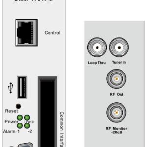 Эфирный/кабельный приемник с 2xCI / двухканальный аналоговый модулятор - DMM-1701PM-04T2 PBI