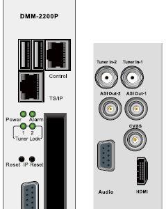 Эфирный/кабельный приемник Twin IRD HD/SD с ASI-out/MUX/GbE - DMM-2210P-T2/C PBI