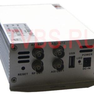 IPQAM модулятор 8*UDP/RTSP/HLS в 1*QAM DM9801 TVBS