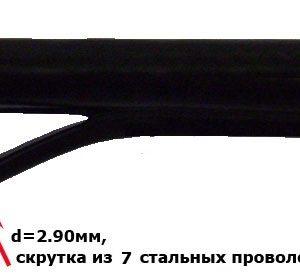 Кабель коаксиальный RG11 с витым тросом F1160BEM 7x0.8 TVBS