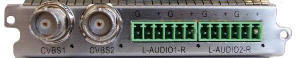 Карта двухканальный MPEG-2/H.264 SD кодер с аналоговыми входами - C130AS Sumavision