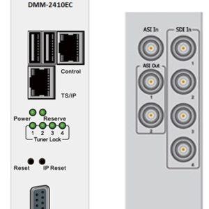 Кодер 4-х канальный H.264/HD/SD&MPEG-2/SD с 4xSDI/MUX/ASI/IP, AAC - DMM-2410EC-S PBI
