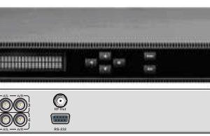 Кодер 4xH.264/MPEG-2 SD/HD с 4*CVBS/IP/модулятор DVB-C - DXP-8000EM-42CC PBI