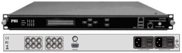 Кодер 4xH.264/MPEG-2 SD/HD с 4*CVBS/IP/модулятор DVB-T2 - DXP-8000EM-42CT2 PBI