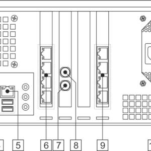 Мультиплексор Stream Multiplex 2x8