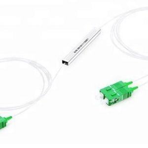 Ответвитель оптический 1х2, PLC, SM, 50/50, 1310/1550нм, 1м, 0.9мм, SC/APC