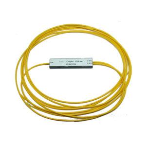 Ответвитель оптический 1х2, PLC, SM, равномерный, 1310/1550нм, 1м, 3.0мм