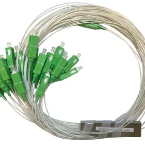 Ответвитель оптический 1х32, PLC, SM, равномерный, 1310/1550нм, 1м, 0.9мм, SC/APC