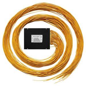Ответвитель оптический 1х64, PLC, SM, равномерный, 1310/1550нм, 1м, 3.0мм