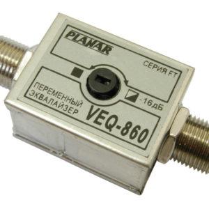 Переменный эквалайзер VEQ-860 FT ПЛАНАР