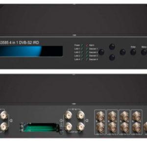 Приемник 4-канальный DVB-S2/CI с 4xIP/4xASI - NDS3585 Dexing
