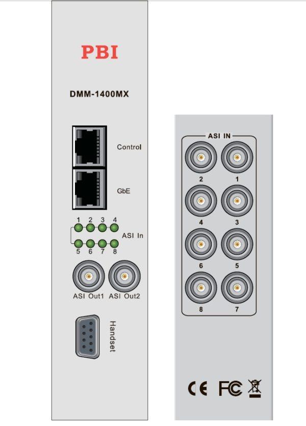 Ремультиплексор с ASI/IP - DMM-1400MX-40 PBI