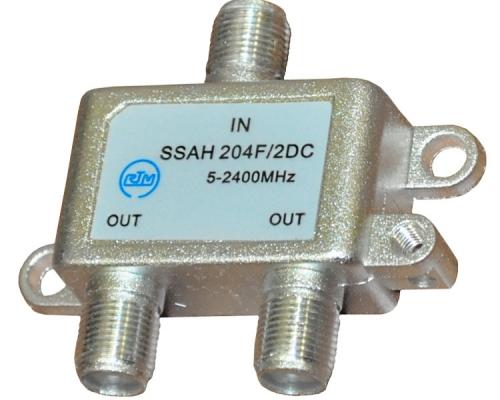 Сплиттер SSAH 204F/2DC RTM