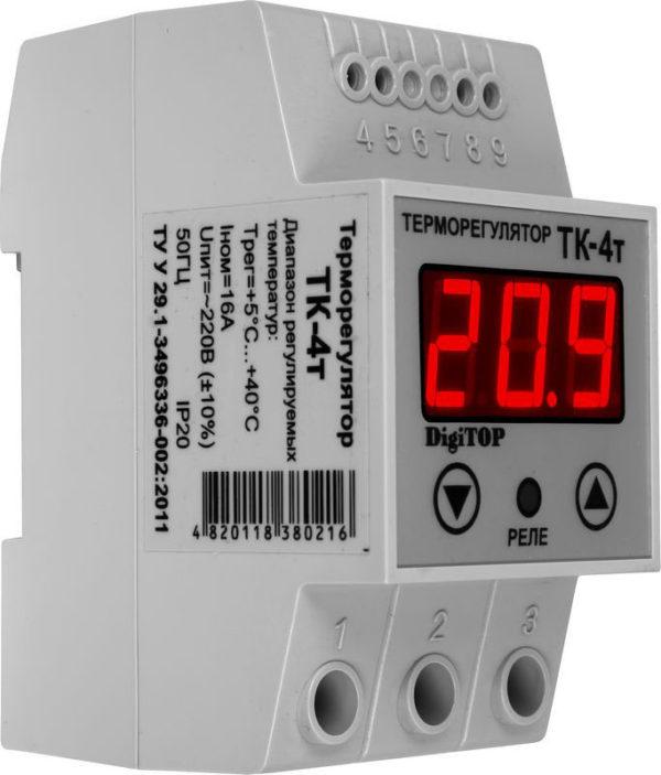 Терморегулятор ТК-4т (одноканальный)