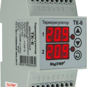 Терморегулятор ТК-6 (двухканальный)