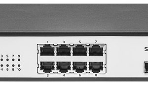 Управляемый POE Ethernet коммутатор уровня 2 - SNR-S2985G-8T-POE