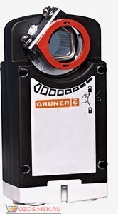 Электропривод GRUNER 361-024-10-S2 с возвратной пружиной